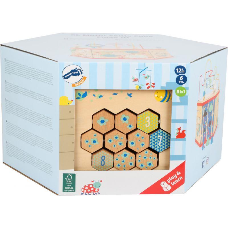 Cubo de motricidad XL