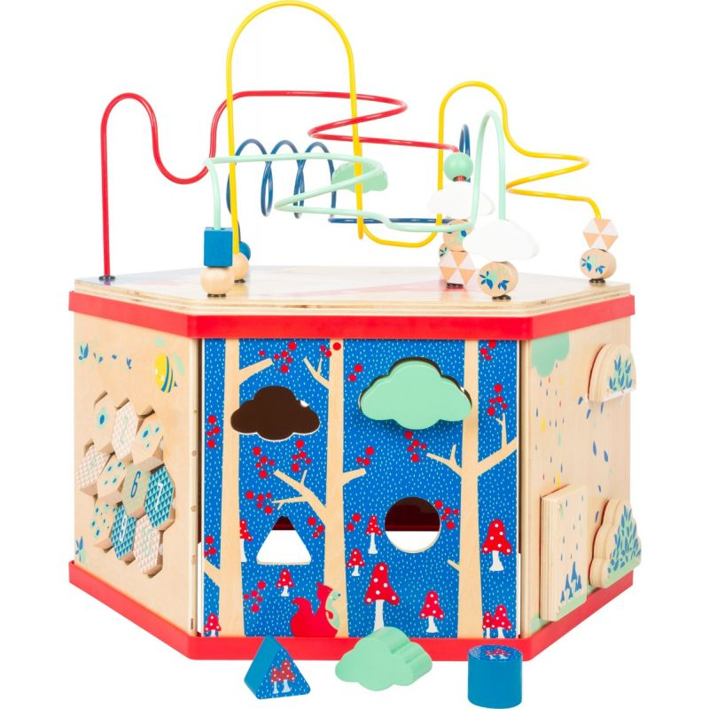 caja de actividades para el bebé