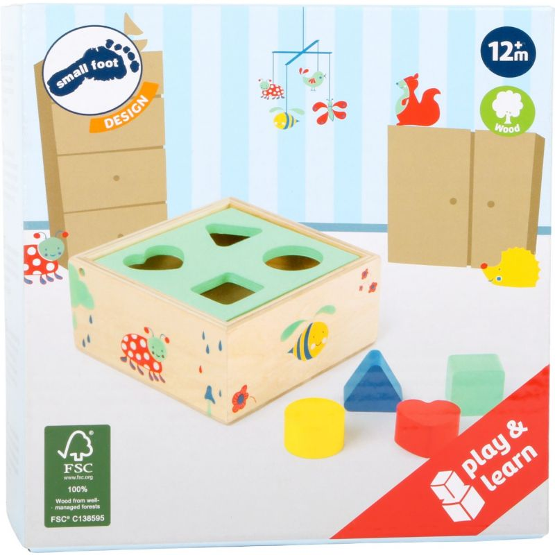 Cubo para Encajar Piezas Move It small foot