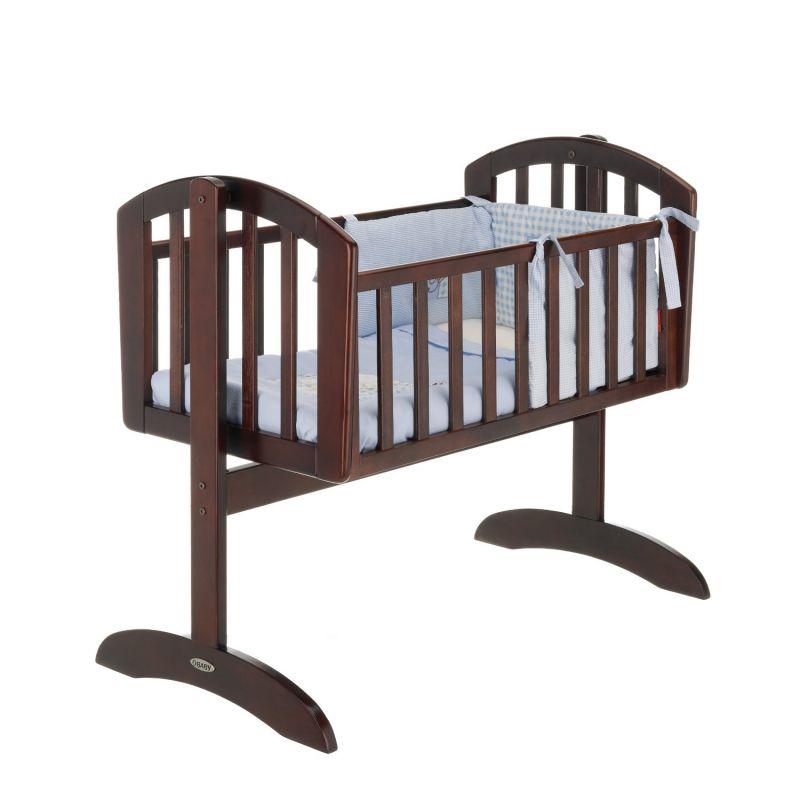 Cuna Balancín para Bebés Obaby Sophie Marrón