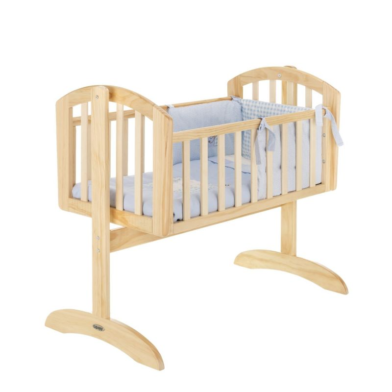 Cuna Balancín para Bebés Obaby Sophie Natural