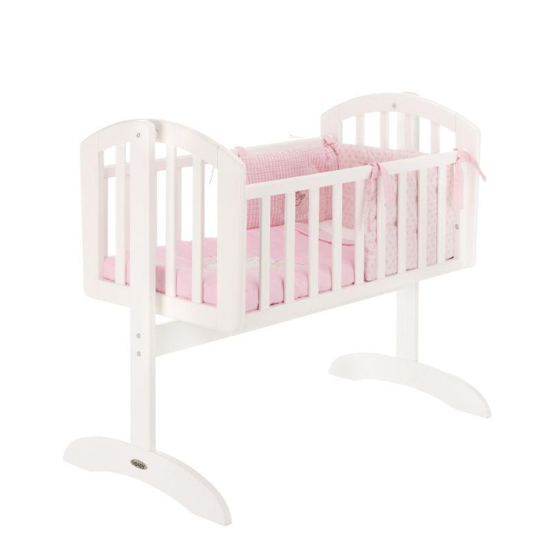 Cuna Balancín para Bebés Obaby Sophie Blanca