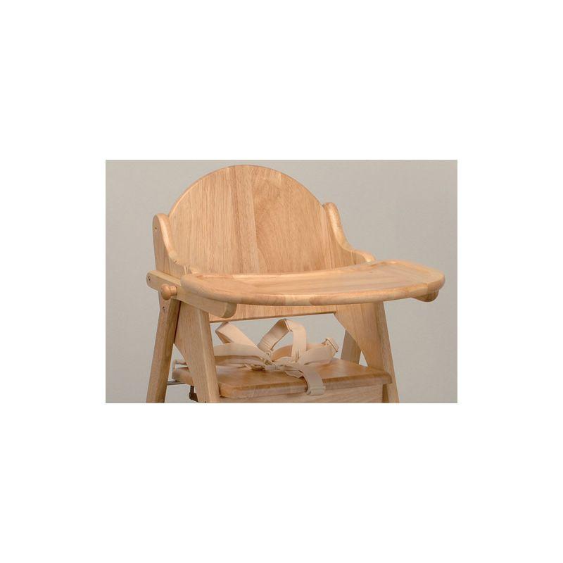 Trona de madera para niños