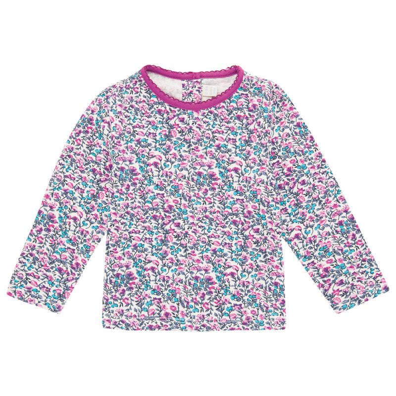 Camiseta de Niña con estampado Floral