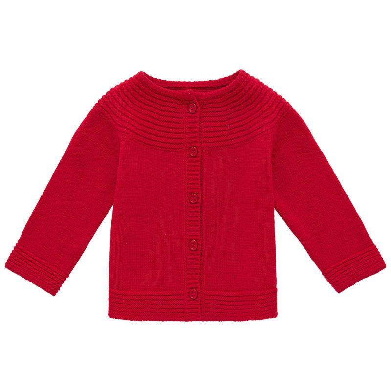 Chaqueta de Niña Vintage - Roja