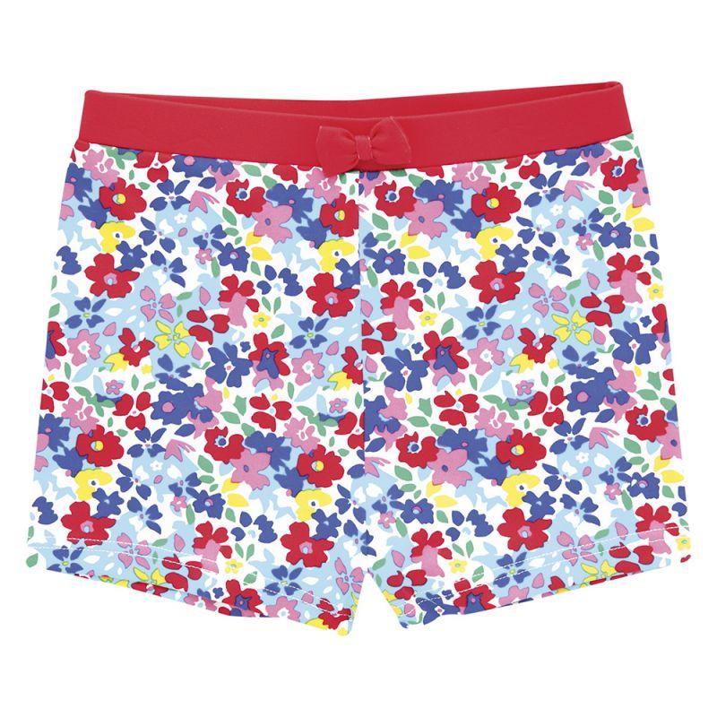 Bañador Short de Niña - Estampado Floral