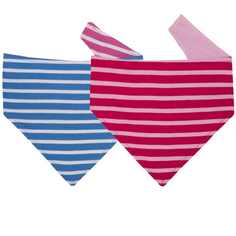 Baberos Quita Babas para Bebés Rosa y Azules