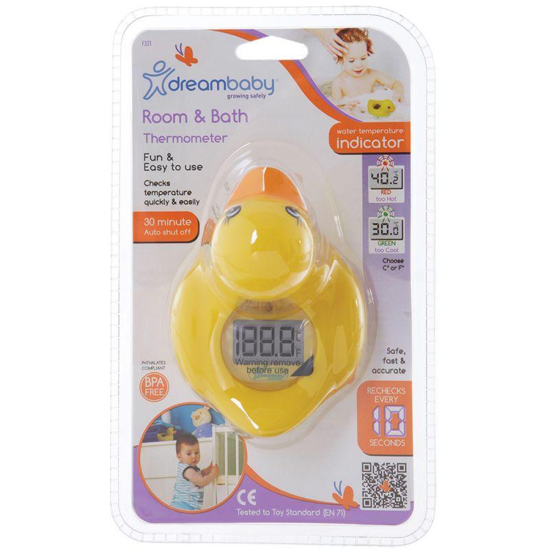 Termómetro de Baño y Habitación para Bebés El Pequeño Patito