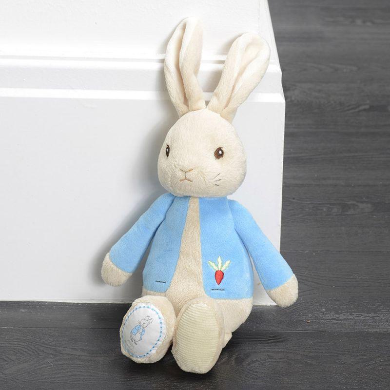 Conejito de Peluche Azul para Bebés
