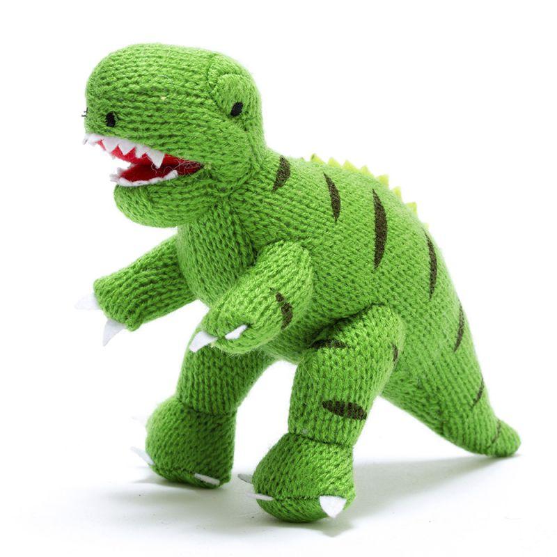 Amigurumi Dinosaurio Verde