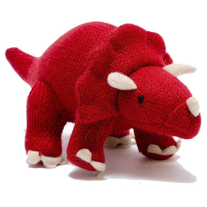 Amigurumi Dinosaurio Rojo