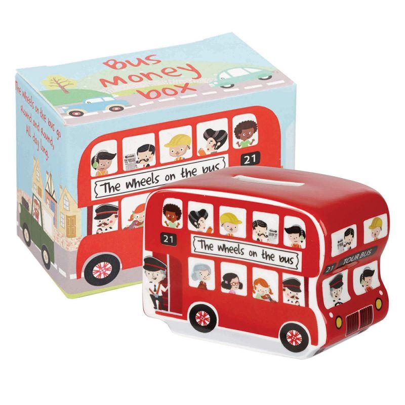 Hucha para Niños Autobús Londres