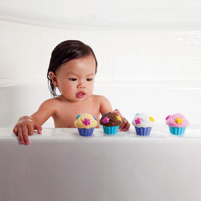Juguete de Baño para niños Cupcakes Flotantes