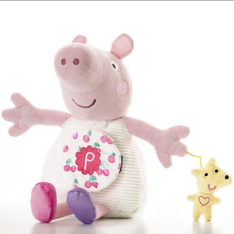 Peluche de Peppa Pig con Actividades