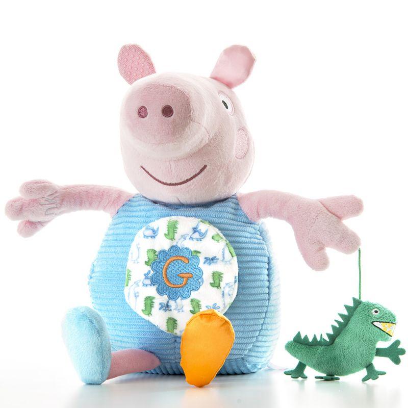 Peluche de George Pig con Actividades