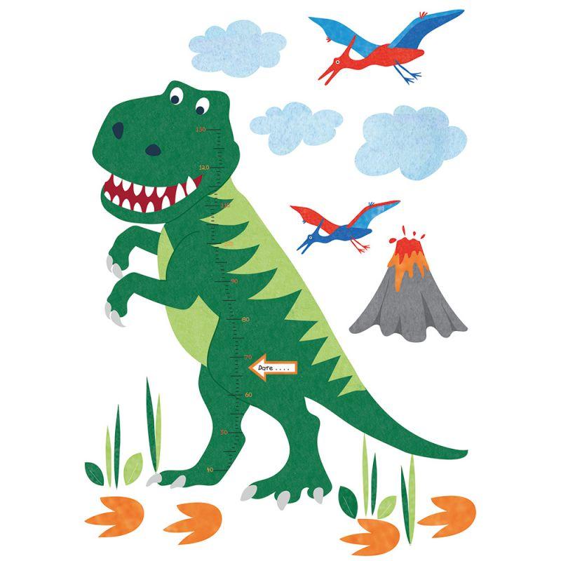 Vinilo Infantil Dinosaurio con Medidas