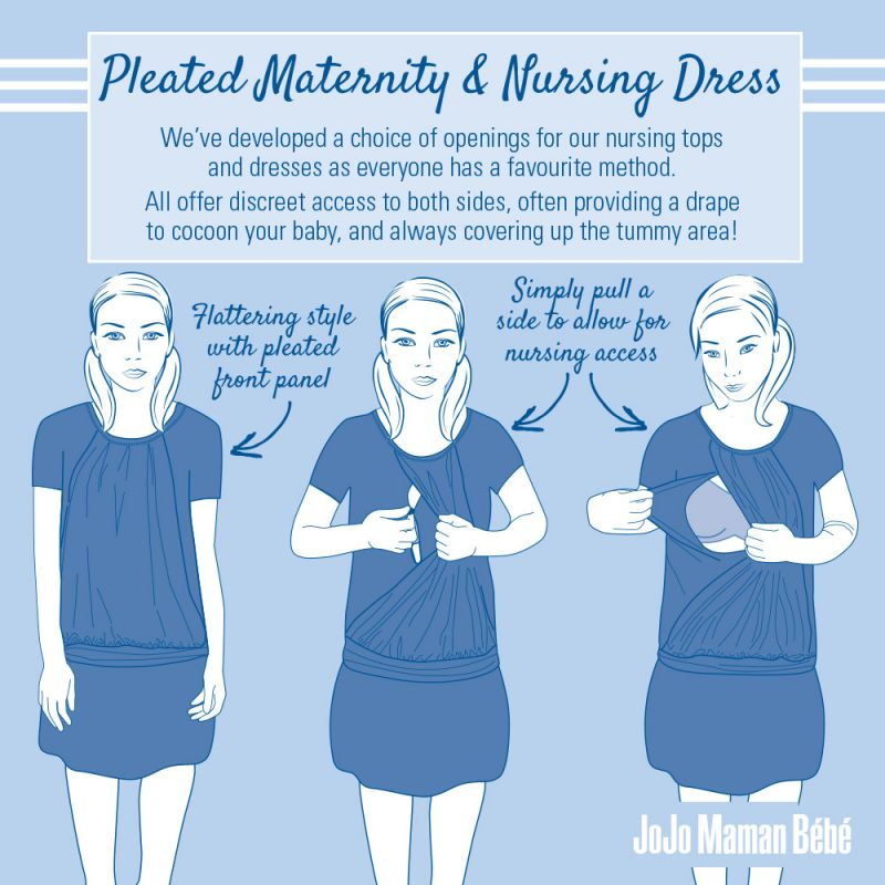 Vestido de Embarazo y Lactancia Swirl