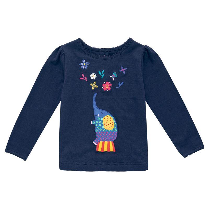 Camiseta de Niña el Elefante Trapecista