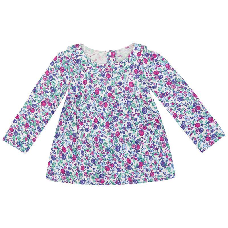 Blusa para Niña con Flores