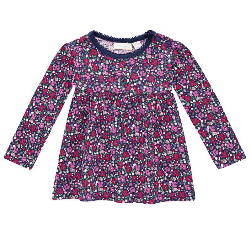 Camiseta para niña de corte Túnica en color Floral