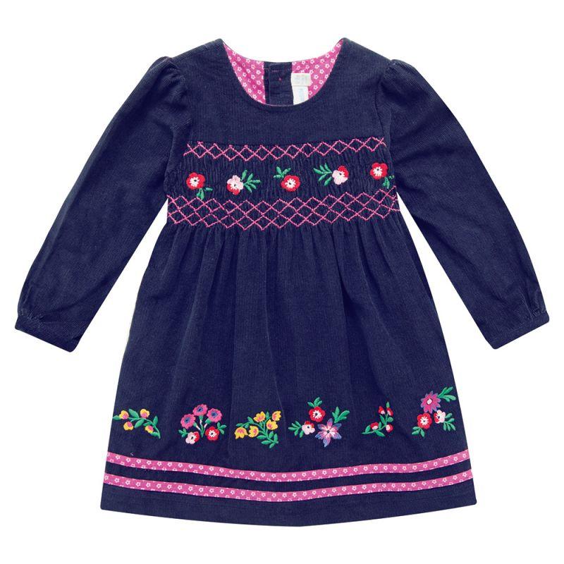 Vestido de Niña Nido de Abeja