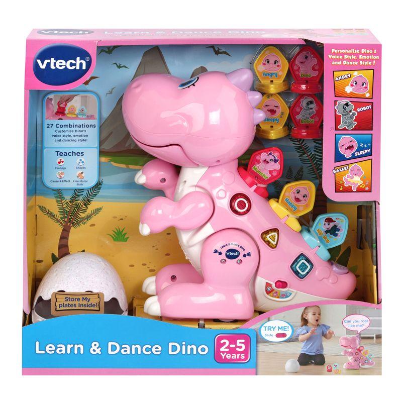 Dino rosa Aprende y Baila Vtech