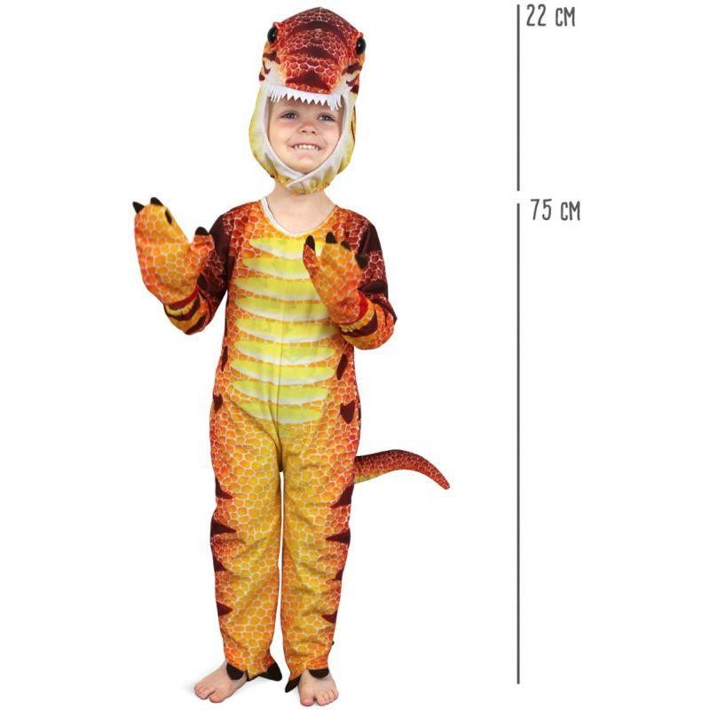 Disfraz dinosaurio dimensiones