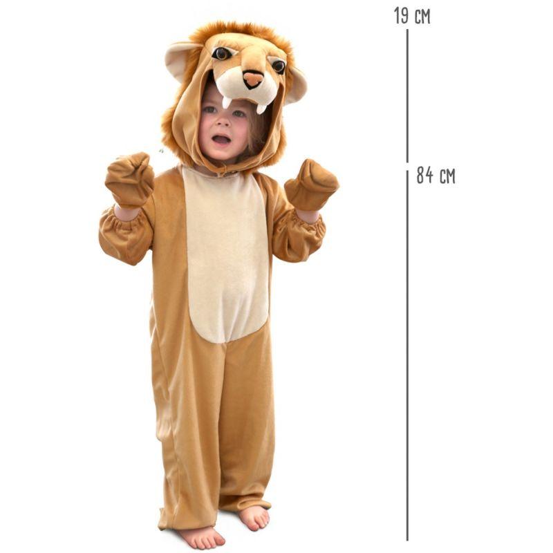 dimensiones disfraz leon