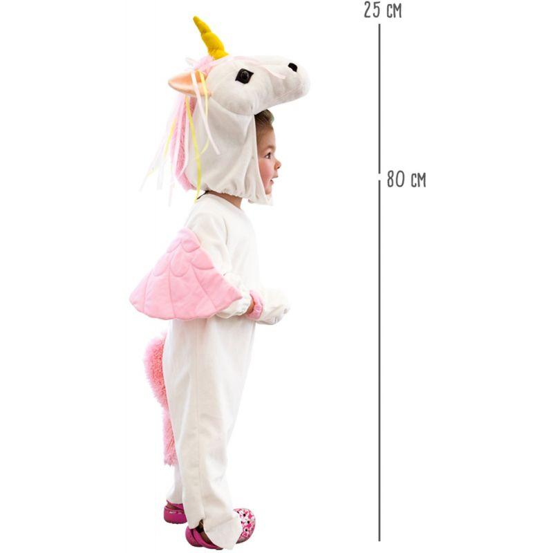 dimensiones Disfraz Unicornio