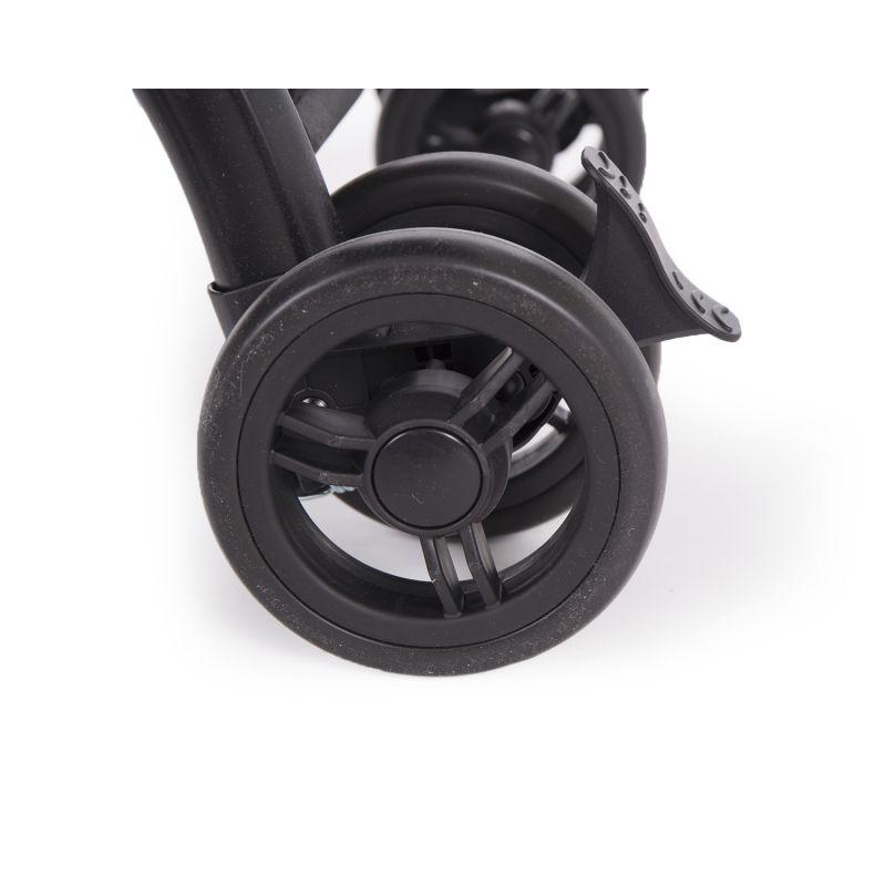 ruedas doble silla de paseo