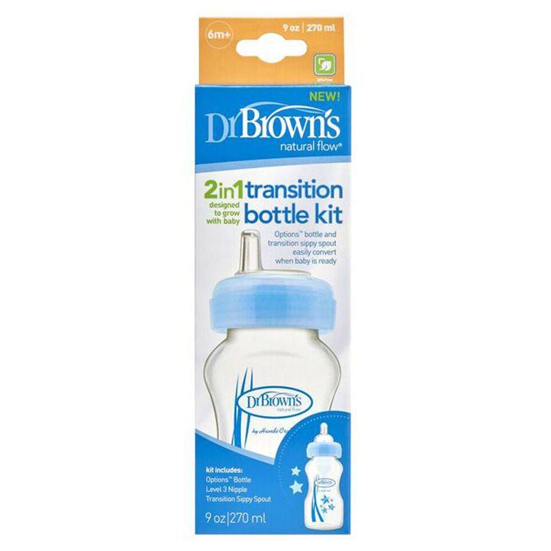 Biberón de Transición 2 en 1 de Dr Brown