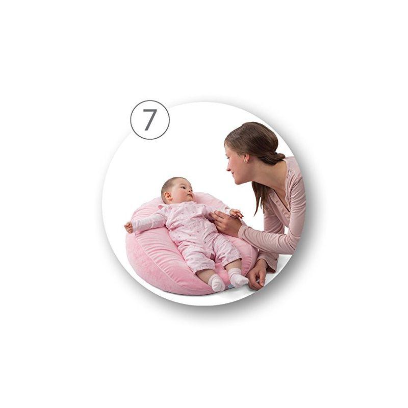 DreamWizard Almohada Embarazo y Cojín de Lactancia 10 en 1 - Nuvita