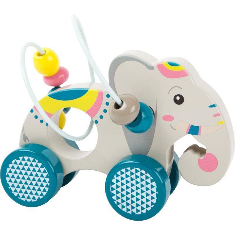 Elefante de arrastre con Circuito de Motricidad
