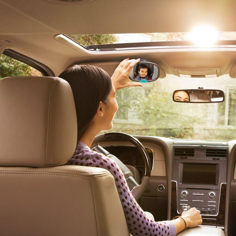 Espejo de coche Doble, sirve para asiento delantero y trasero - Munchkin