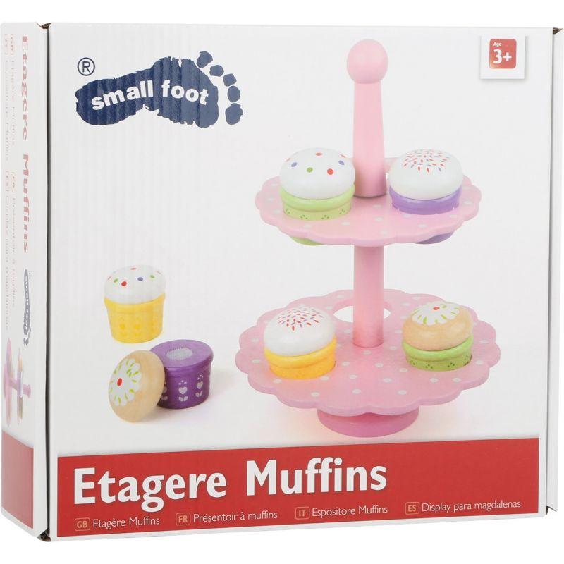 Estantería de Muffins - Juguete de madera