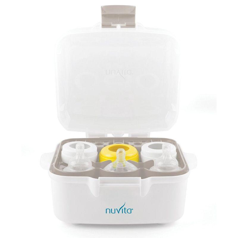 Esterilizador Biberones para Microondas - Nuvita
