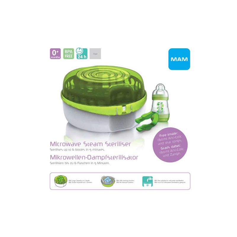 Esterilizador a Vapor para Microondas - Mam