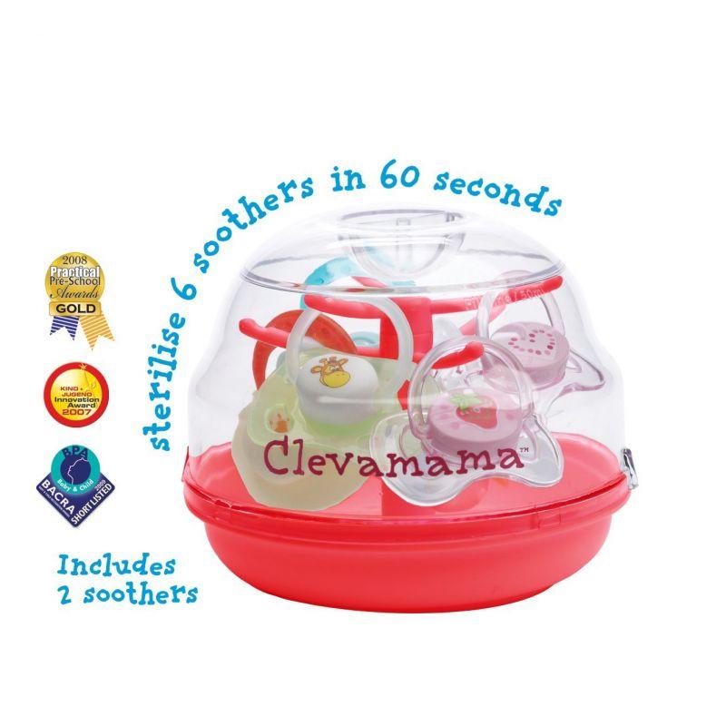 Esterilizador de Biberones para Microondas Clevamama