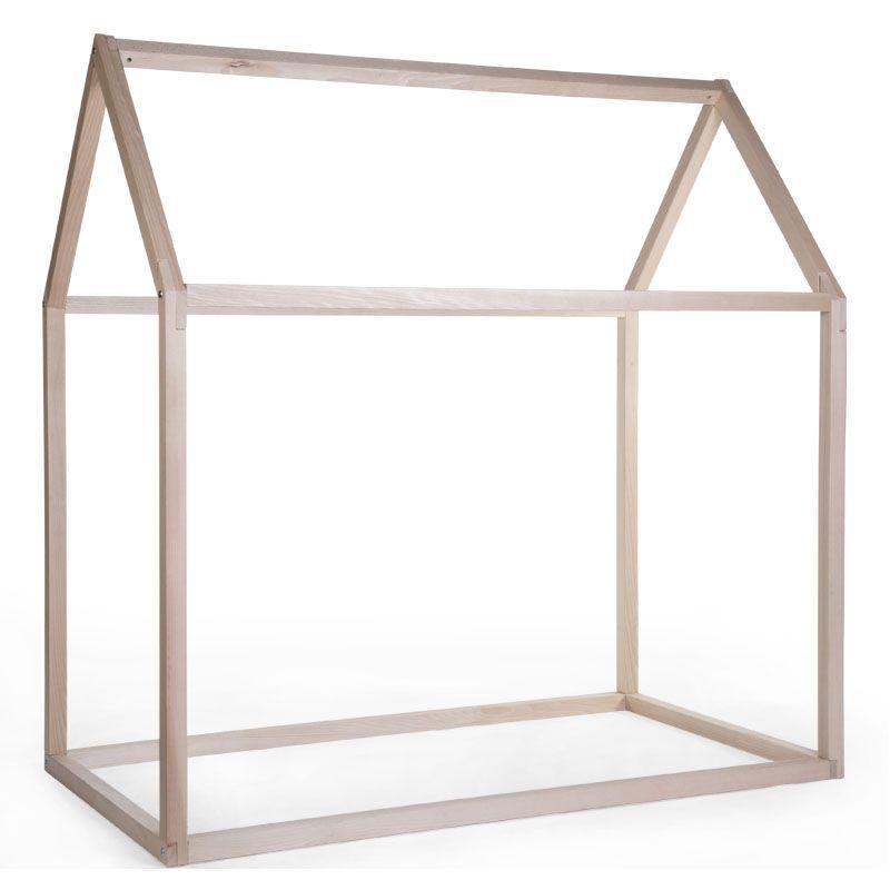 Estructura de Cama Casa - 90 x 200 cm