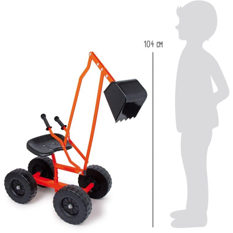 excavadora para niños legler