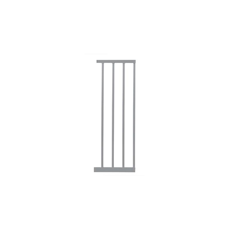 Extensión para puertas de seguridad 28 cm , color plata , Lindam