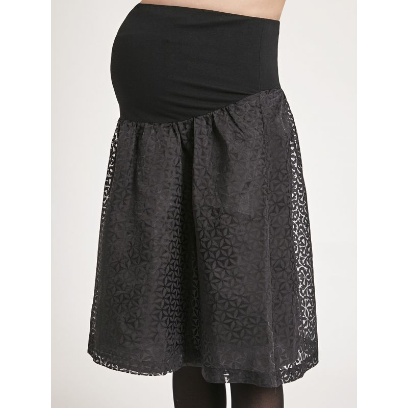 falda negra premamá