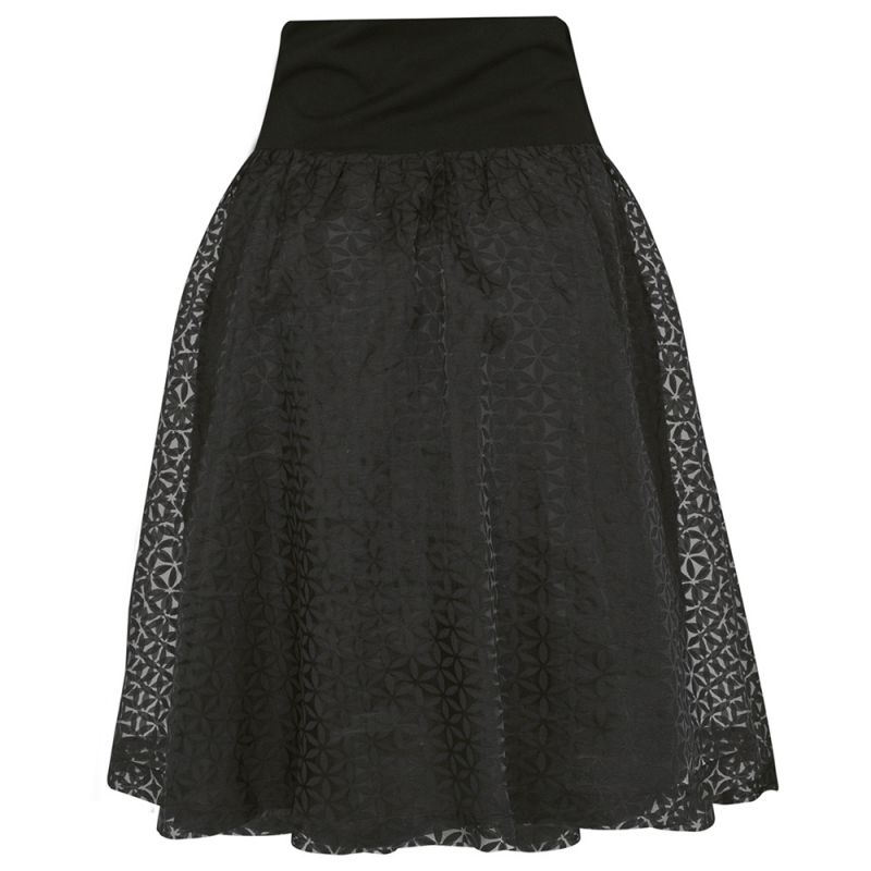 falda premamá de vestir