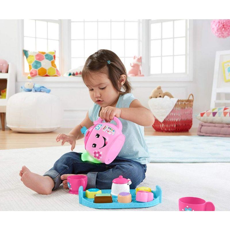 Fisher-Price - Juego de té, juego educativo para bebé +1 año