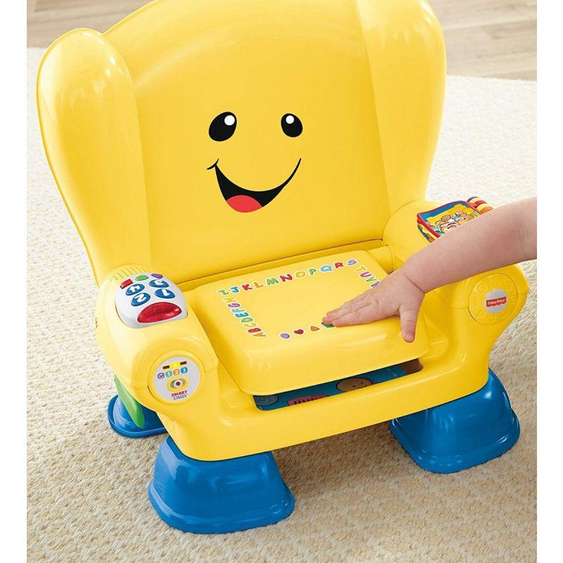 Silla Fisher Price Laught & Learn amarillo
