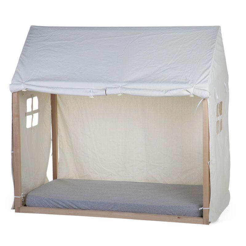 Funda para Cama Casa 70x140 cm - Childhome color blanco
