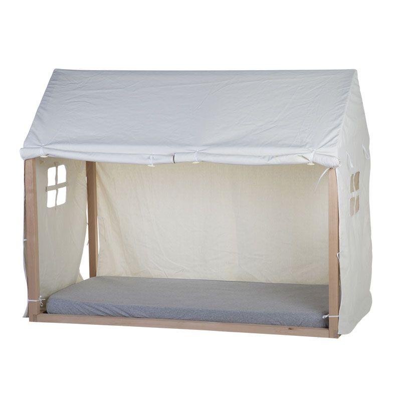 Funda para Cama Casa 90x200 cm - Childhome blanco