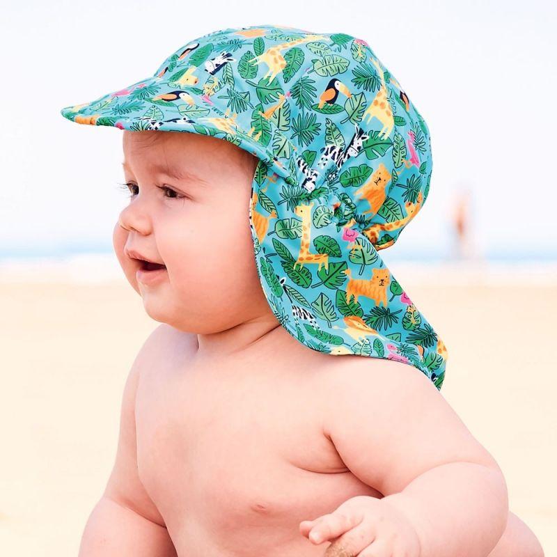 Gorra de Protección Solar para Bebé y Niño jungle