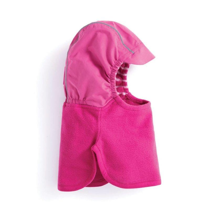 Gorra Pasamontañas Polar para Niño color rosa fucsia