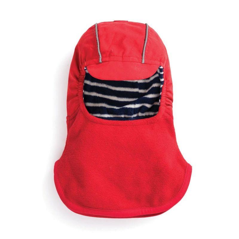Gorra Pasamontañas Polar para Niño color rojo